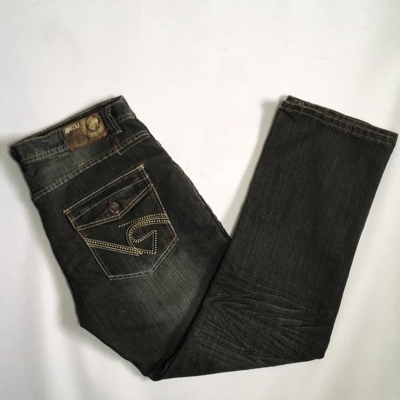 NWOT Antique Black Wash Urban Jeans - 38x32